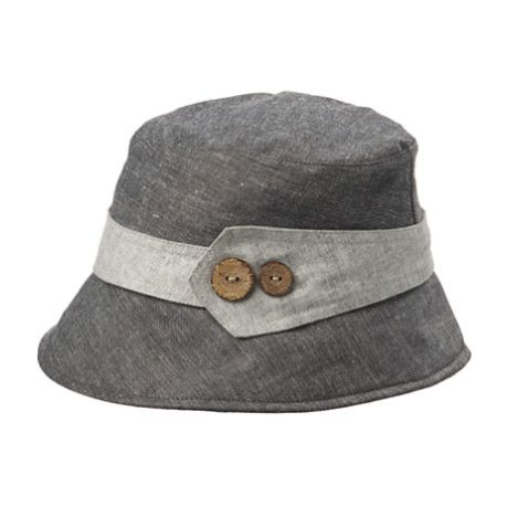 Crown Cap Women\'s Linen Chambray Cloche Hat   Hut, Cappy   Pinterest ...