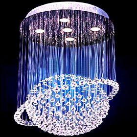 Can\'t figure out if it\'s a chandelier or a fancy shower head ...