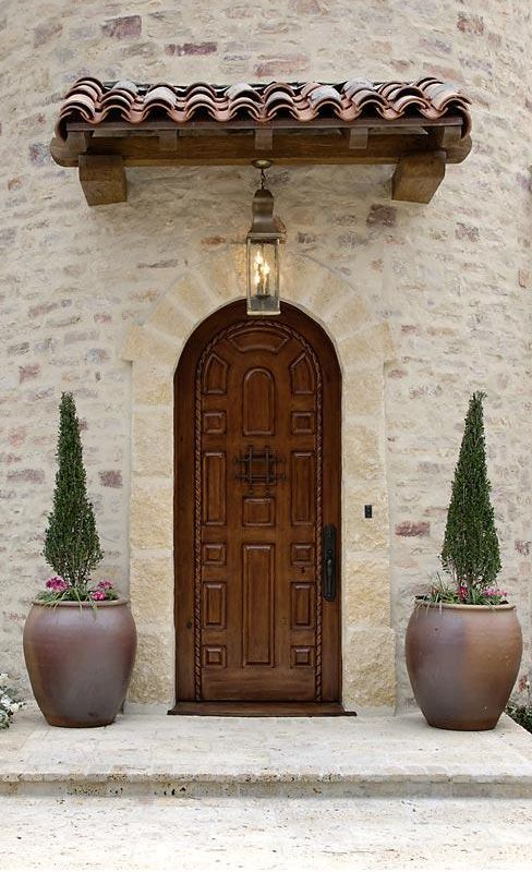Tuscan Style & Armida*** I would like this for the side entry by the public stairs ...