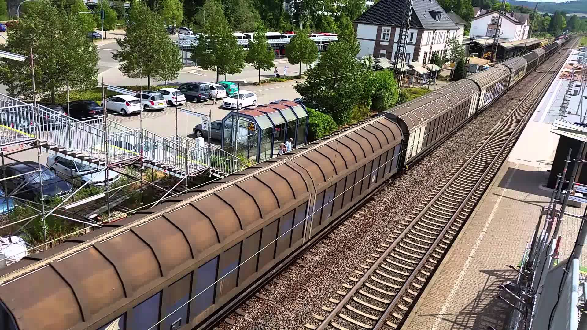 Gueterzug von #Merzig  [Saar ] nach Besseringen  #Saarland  #Merzig #Saarland http://saar.city/?p=26403