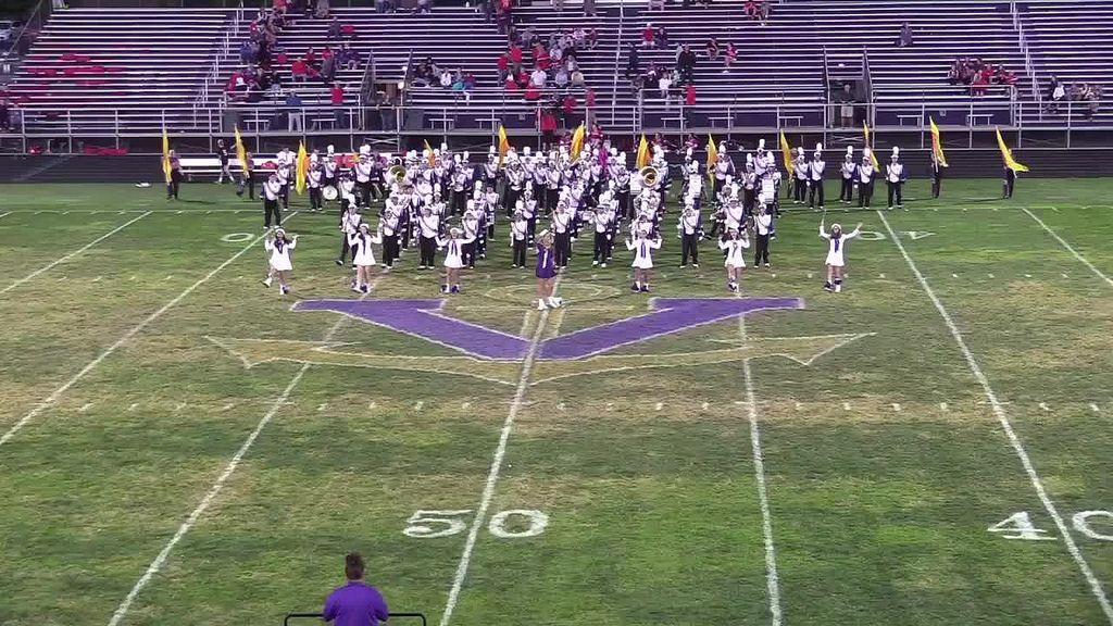 2016-2017 Vermilion Sailor Marching Band - I've Got No Time For You - Halftime Show v Fairview