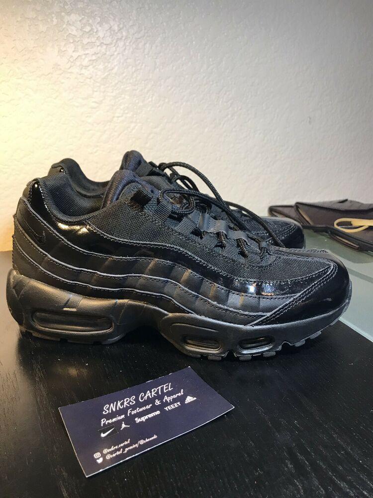 Womens Nike Air Max 95 Black Size 8 US 307960 010 Nike