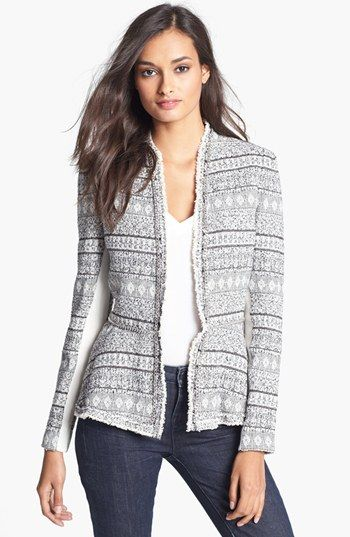 5231f13d2 Rebecca Taylor Tweed & Chain Jacket available at #Nordstrom | style ...