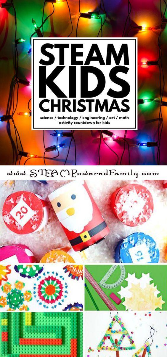 STEAM Kids Christmas a holiday theme to STEAM! Christmas