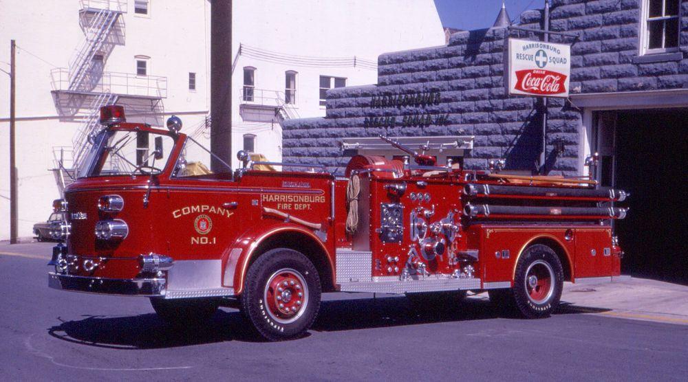 HARRISONBURG, VA 1960 AMERICAN LaFRANCE 750 GPM PUMPER SLIDE | Fire