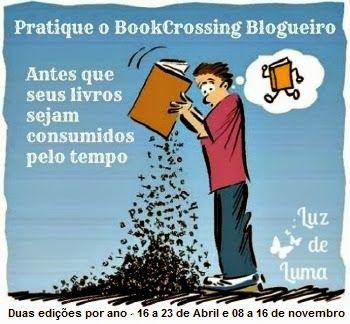 Luz de Luma, yes party!: Vem aí a 8ª Edição do BookCrossing Blogueiro