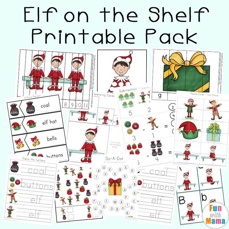 Elf Activities Worksheets Elf Activities Elf On The Shelf Worksheets Snowman Crafts
