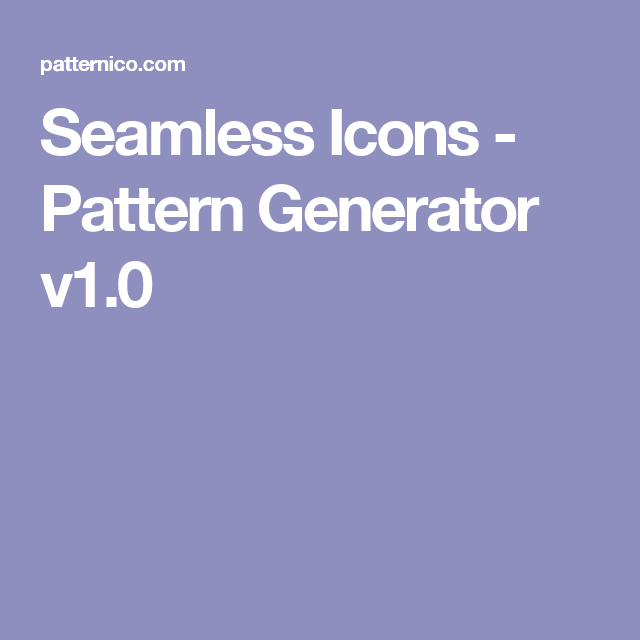 Seamless icons pattern generator v10 graphic design aids web app for creating seamless icon patterns and backgrounds fast and easy without any photoshop wizardry use it free for anything voltagebd Image collections