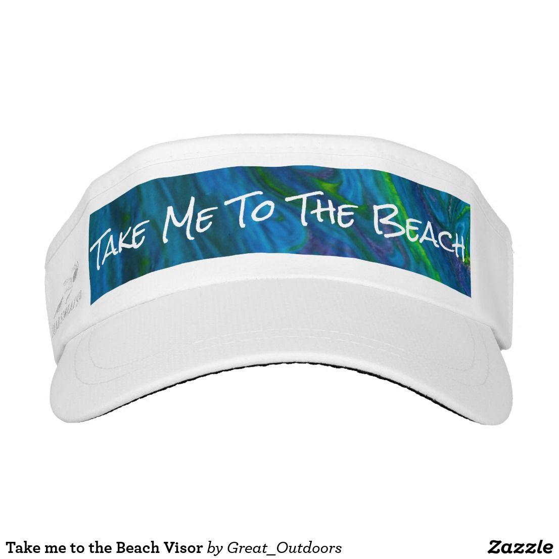 Take me to the Beach Visor
