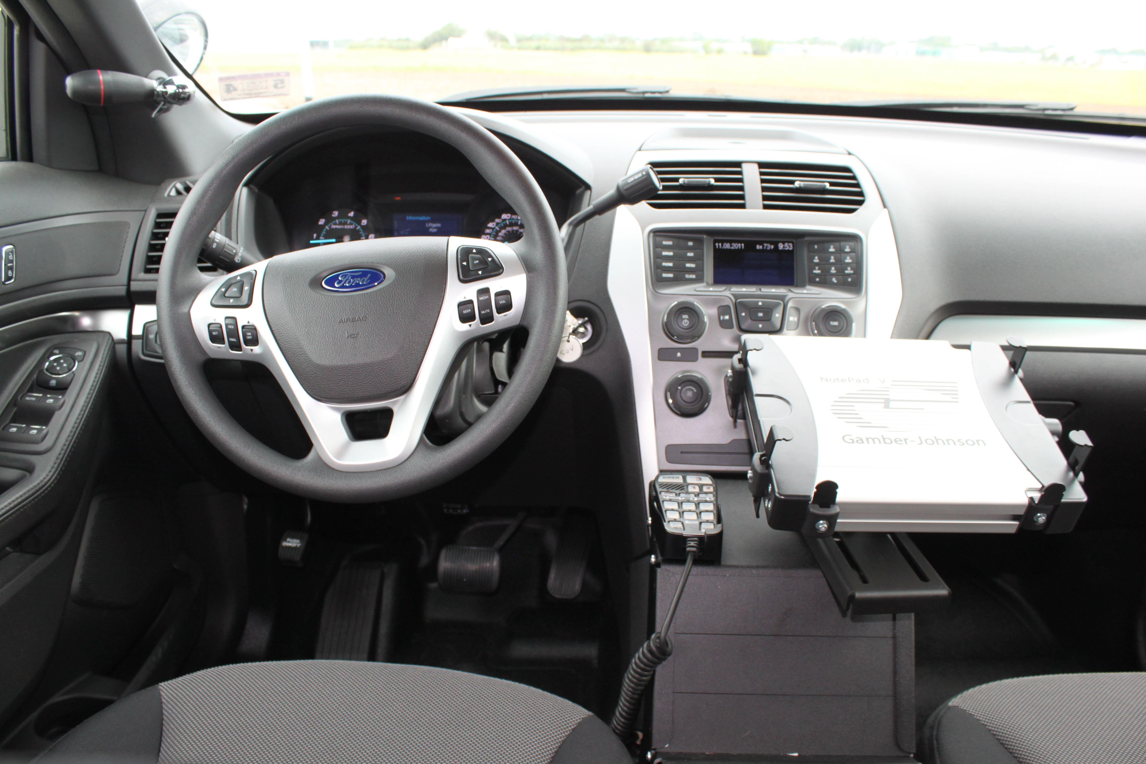 2013 Ford Police Interceptor Suv Dash View Ford Police Bug Out Vehicle Interceptor