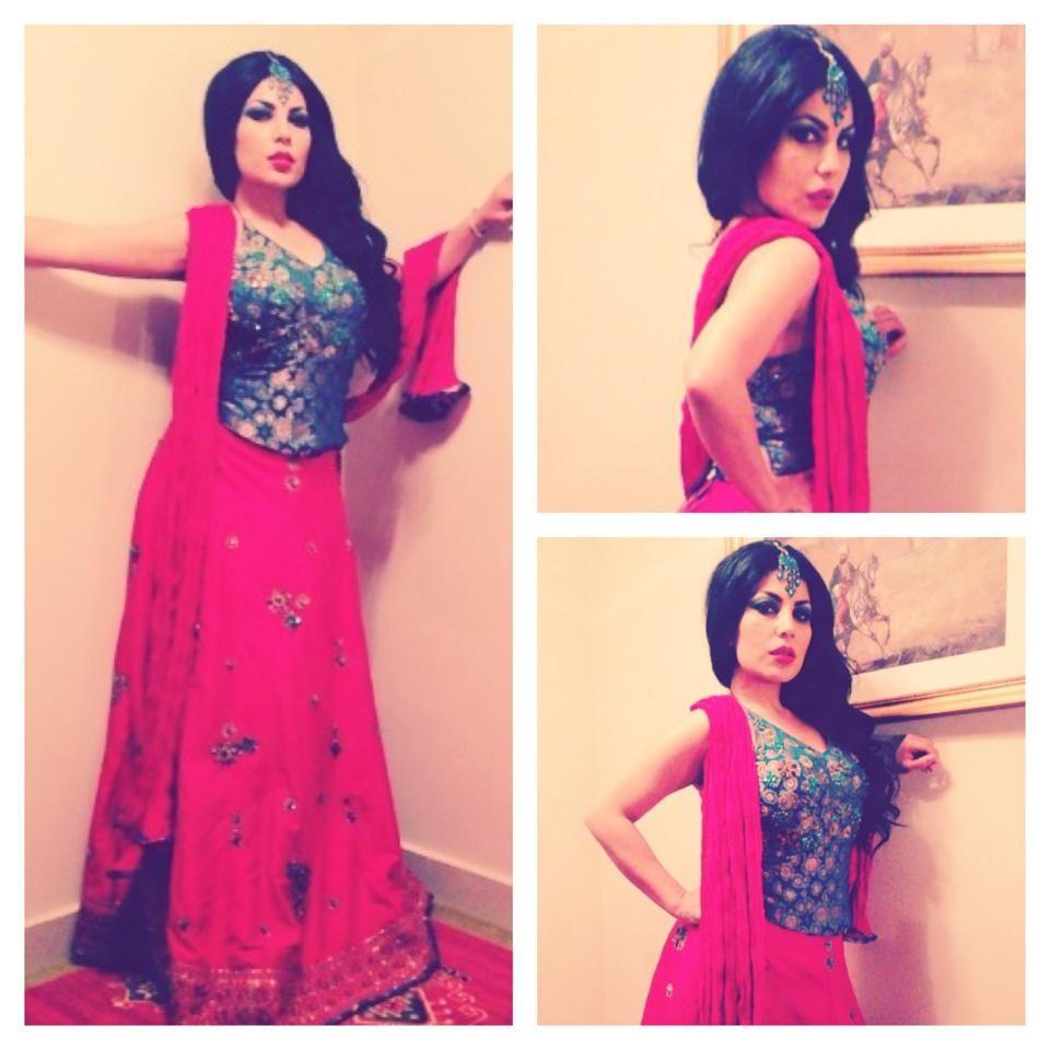 Aryana Sayeed Afghan singer Girl last indian dress Really pretty ...