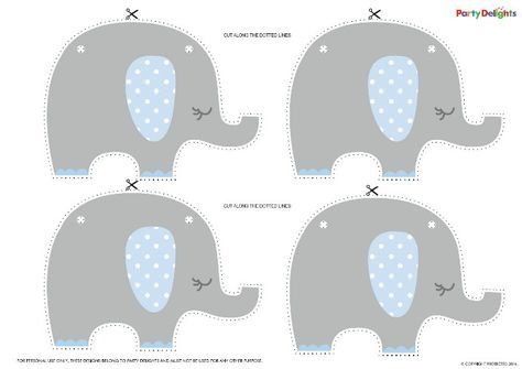 Free Printable Elephant Baby Shower Bunting Monica S Baby Shower