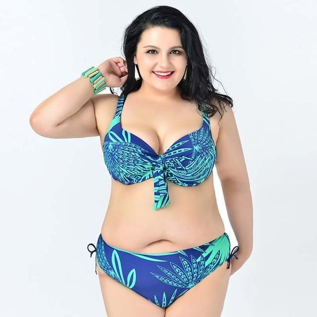 hot push up plus size bikini large size bikinis set 2XL to 6XL swimwear acd7a39e04f4
