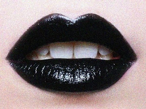 90s Middle School Contraband Black Lips Black Lipstick Dark Lips