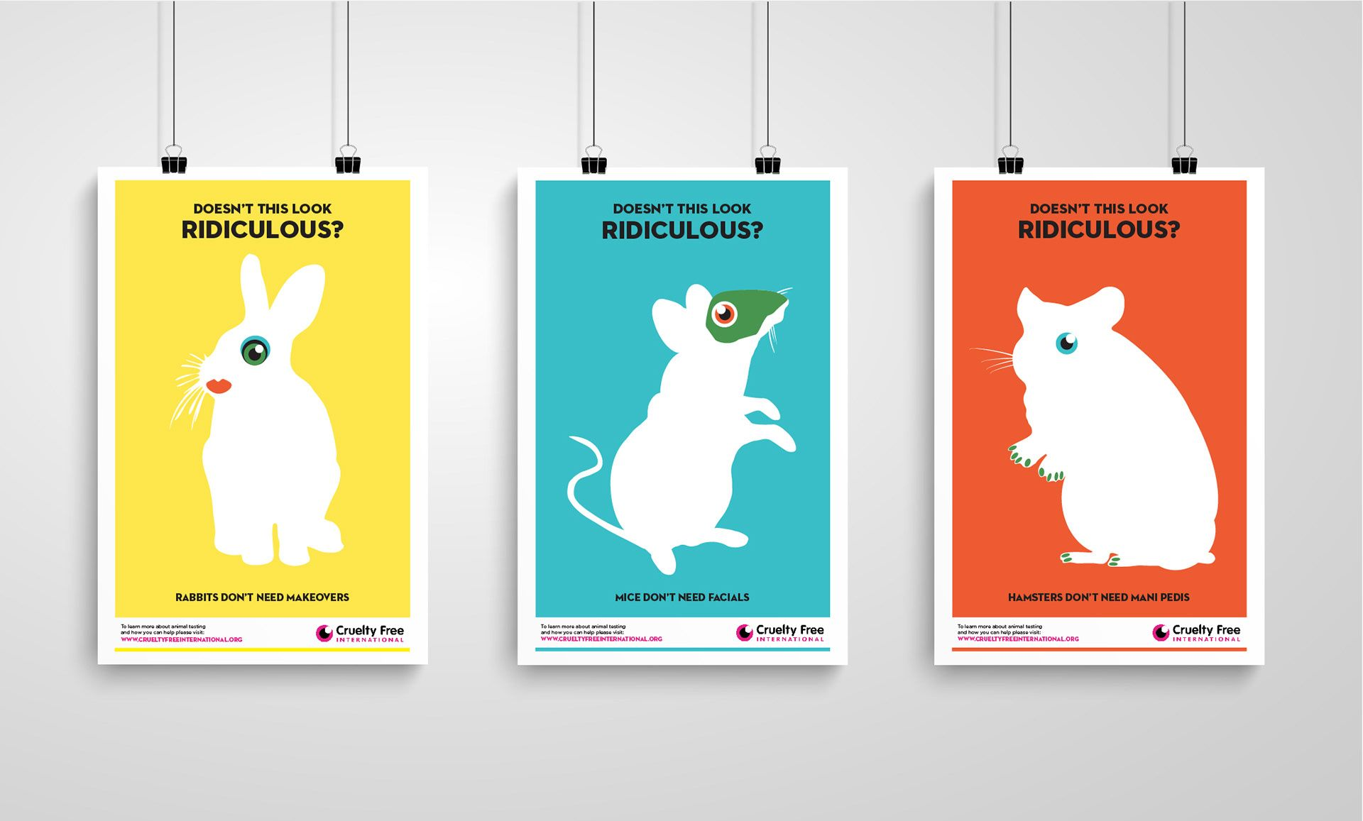 Image Result For Poster Series Campaign Poster Series Illustration Design Cruelty Free