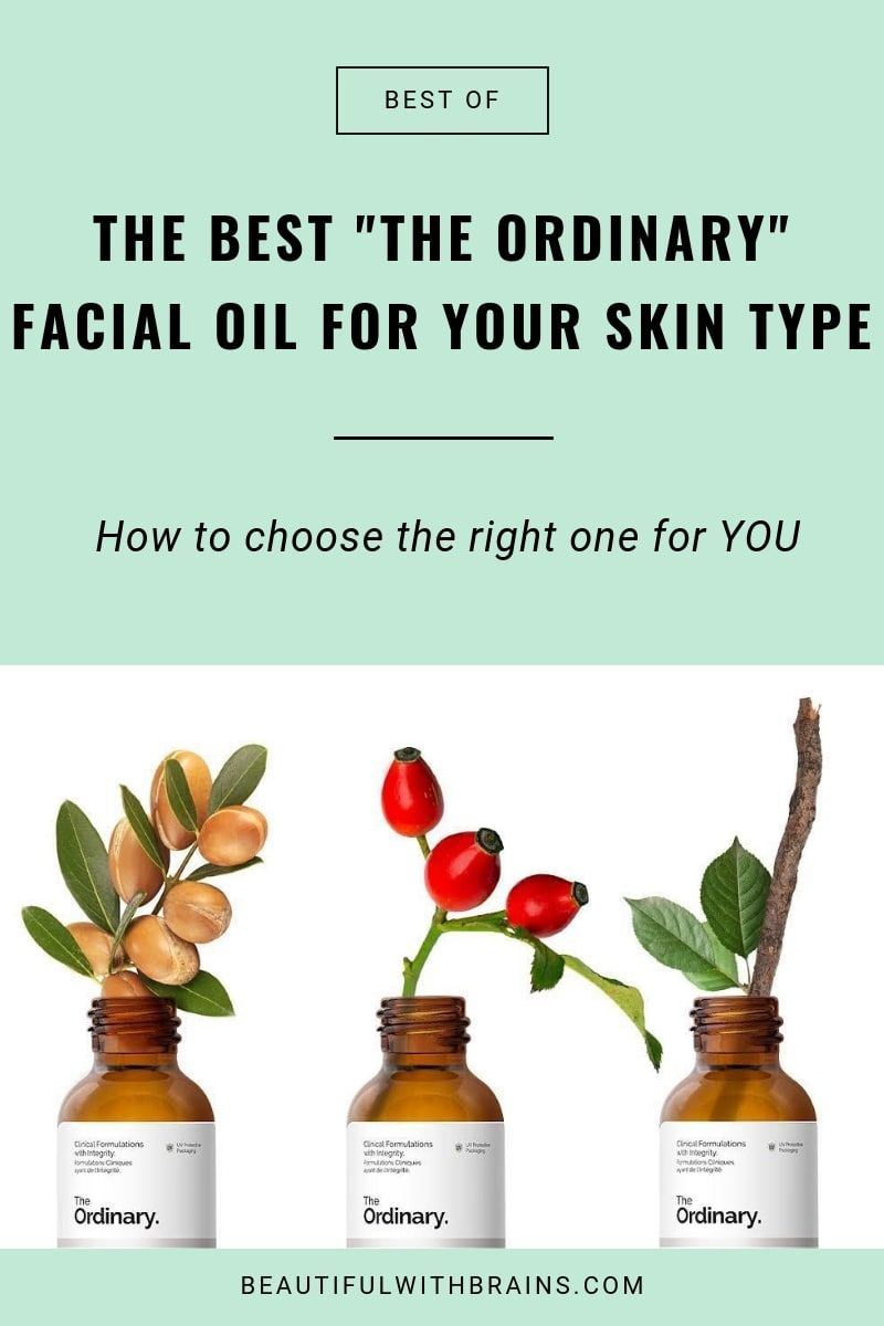 What's The Best The Ordinary Oil For Your Skin Type  is part of The ordinary skincare - Don't know which facial oil to use  Check out this quick guide to find out which is the best The Ordinary oil for your skin type and needs