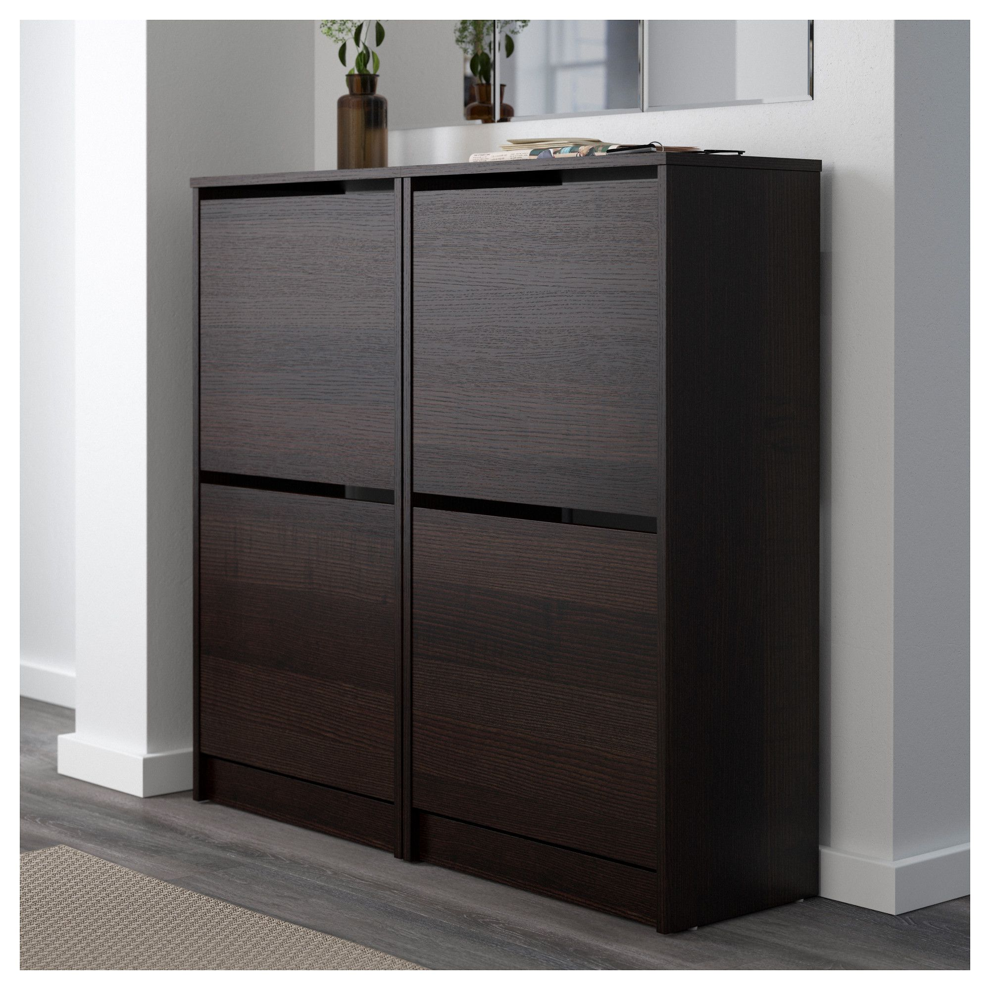 Bissa Armoire A Chaussures 2 Casiers Blanc 49x93 Cm Ikea Meuble Chaussure Meuble Rangement Chaussures Grand Meuble A Chaussure