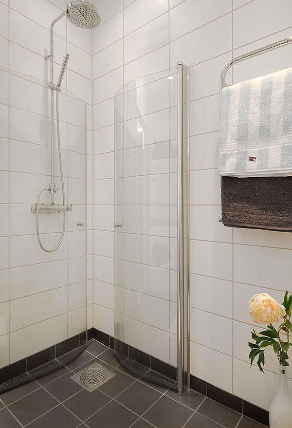 Interesting Tiny Bath Shower Idea Bathrooms Forum Gardenweb