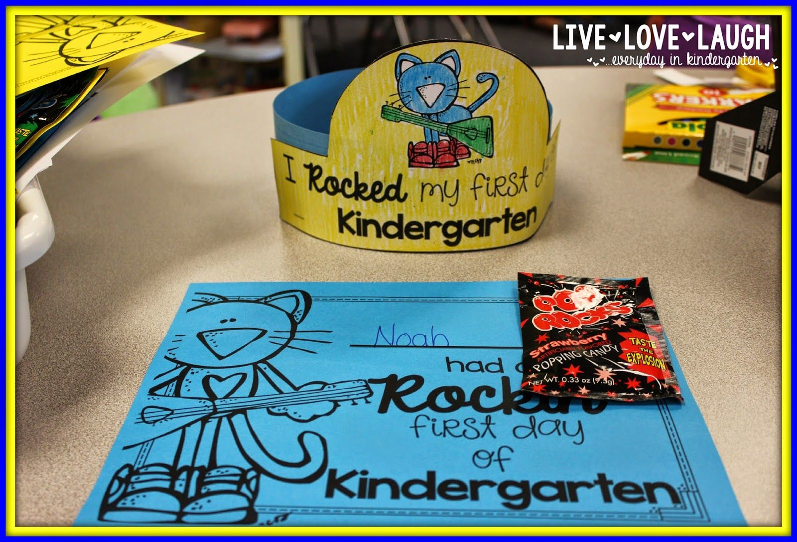 First Day of School with Pete the Cat (Freebielicious) | Pinterest ...