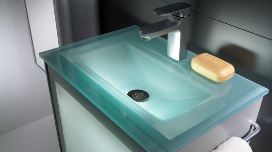 die besten 25 glaswaschtisch ideen auf pinterest. Black Bedroom Furniture Sets. Home Design Ideas