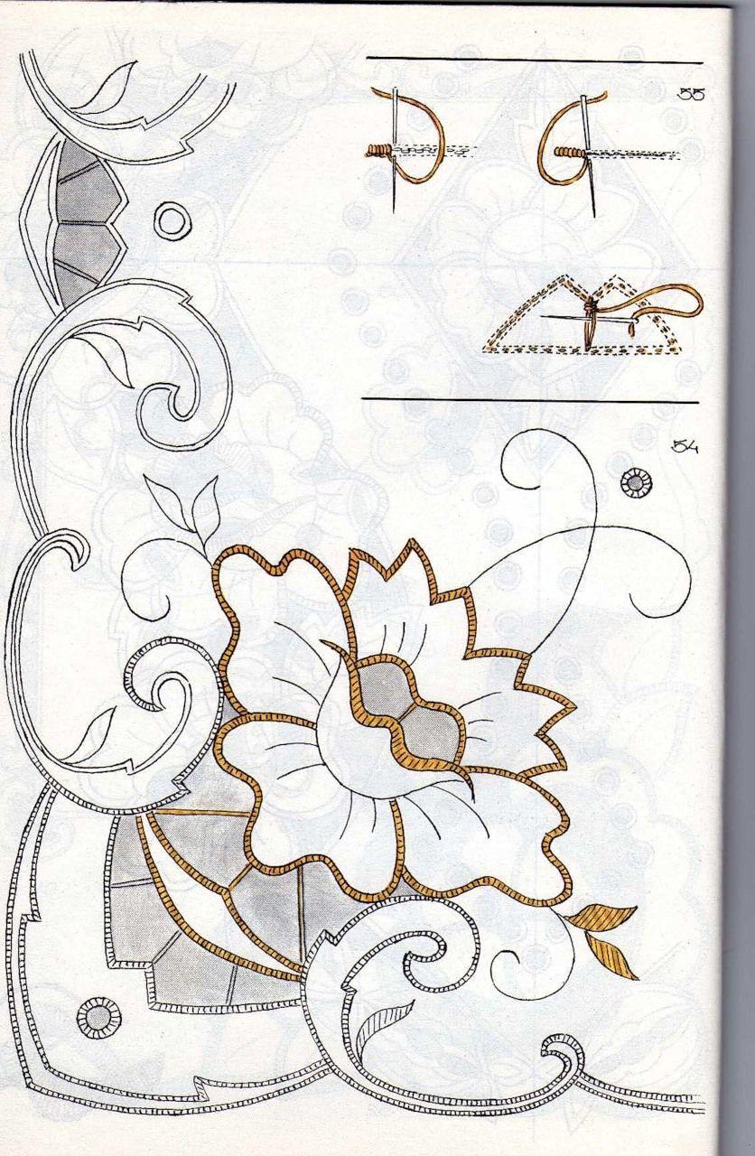 рисунки для вязания и вышивки