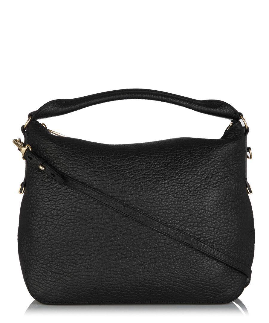 Burberry Ledbury small black leather shoulder bag