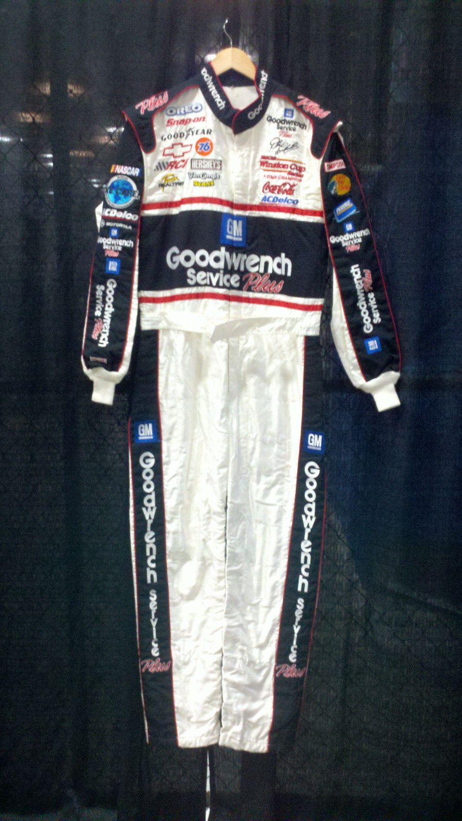 68b14959173 Real Dale Earnhardt Sr 2001 GM Goodwrench Driver Suit Firesuit Uniform  Daytona