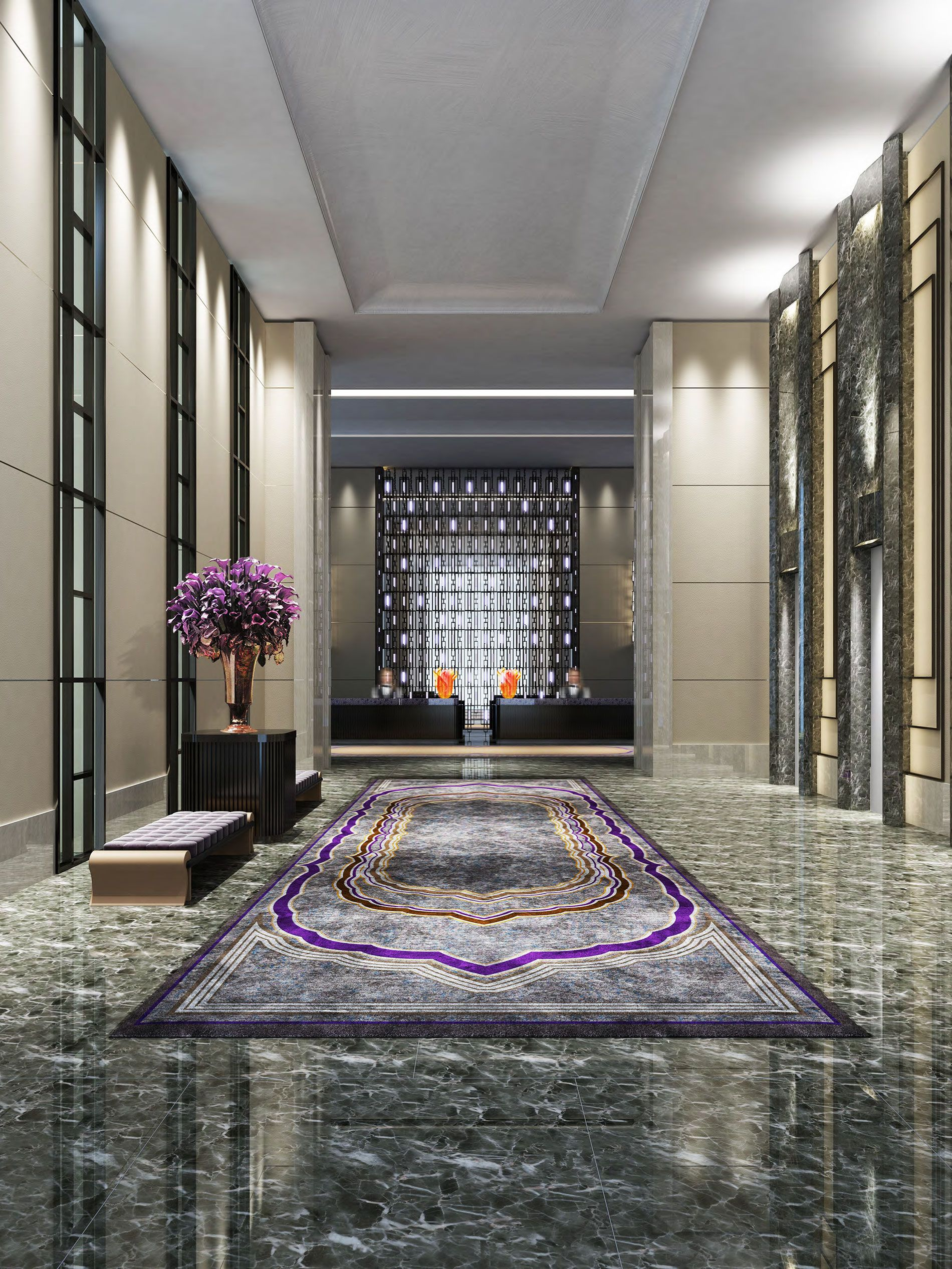 Hotel Lobby Interior Design hilton worldwide to open first conrad hotel in india | hotel lobby