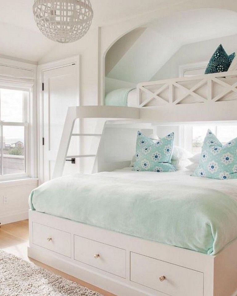 20 Marvelous Fun Coastal Bedroom Ideas Kids With Images Green