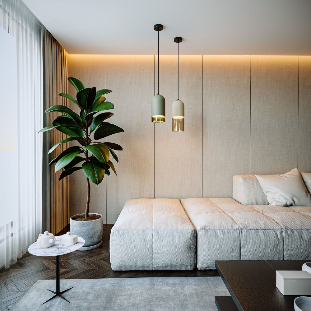 Bedroom In Contemporary Style On Behance: Pill & Seron On Behance In 2020