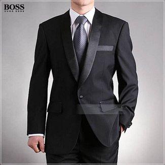 36a569700320 boss groom suit | Wedding | Hugo boss suit, Suits, Black suit wedding
