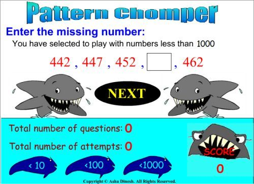 Pattern Games | Math - Patterns | Pinterest | Math patterns, Math ...