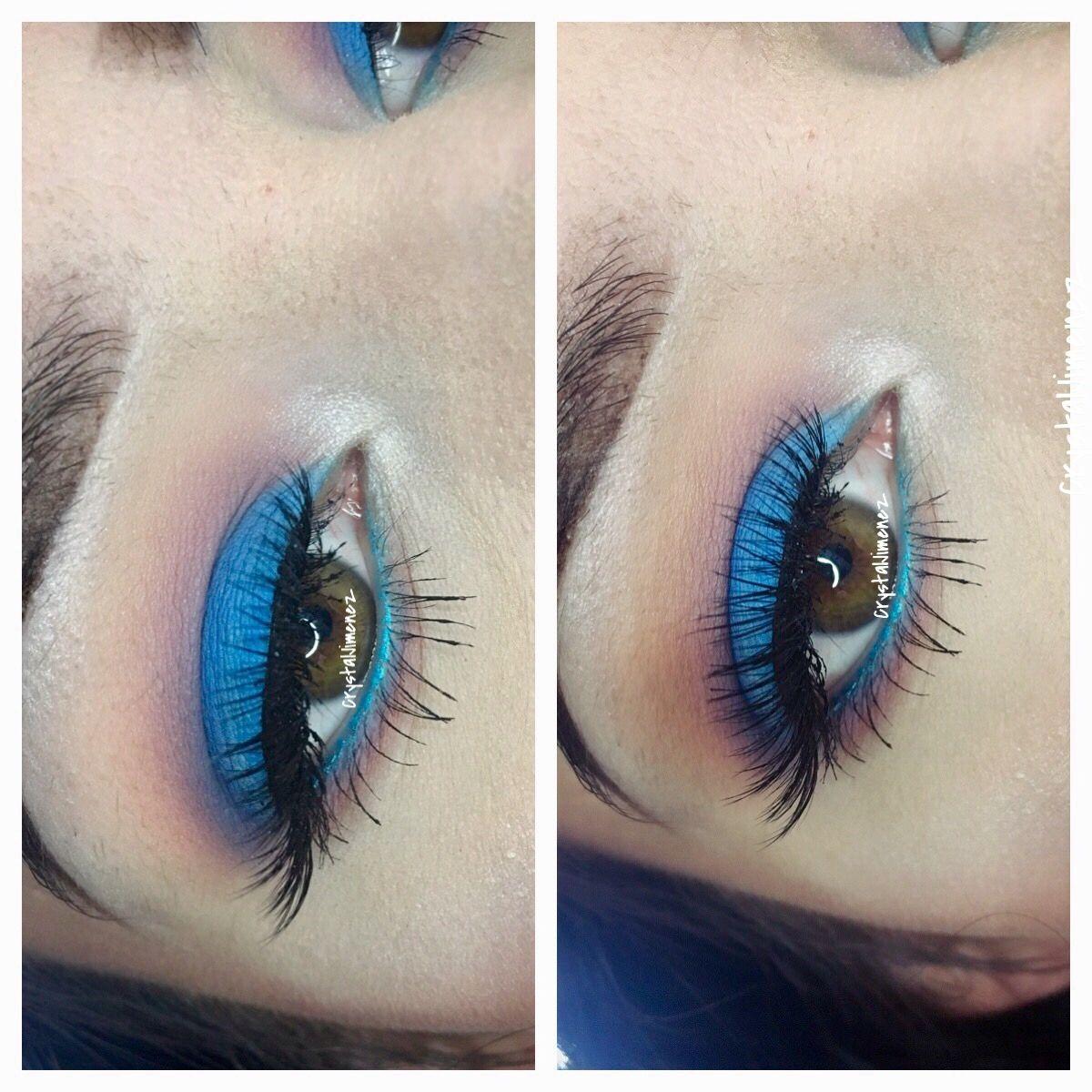 Kat Von D Pastel Goth Summer makeup, Bright makeup, Makeup
