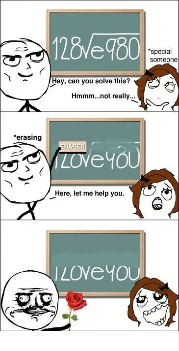 How to tell someone you love them. haha
