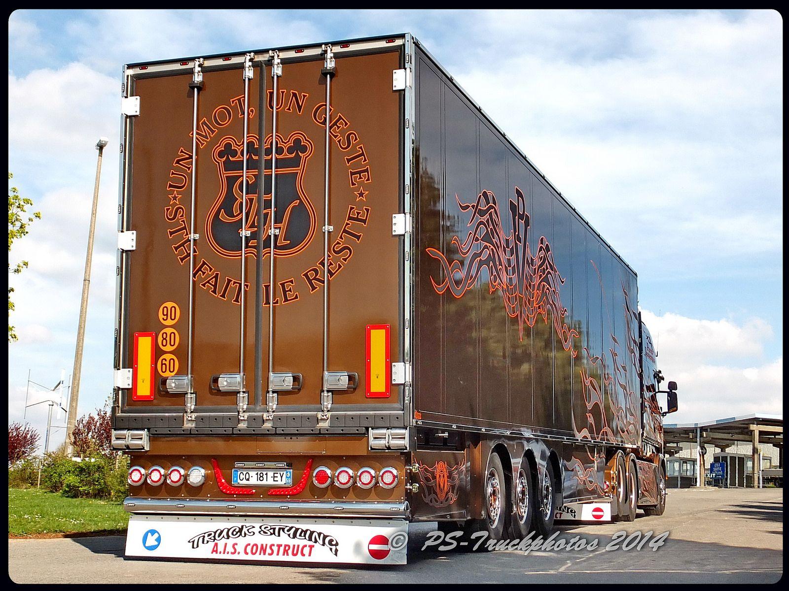 scania r620 v8 longline black amber sth patrick
