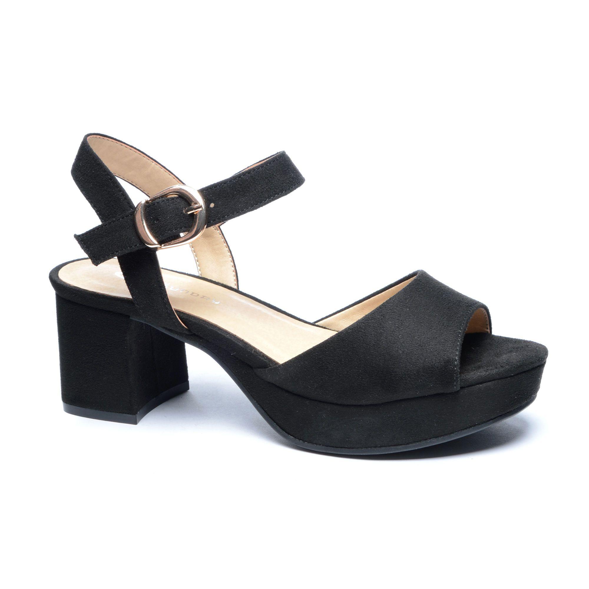 Kensie Peep Toe Platform Sandal Platform Sandals Comfortable