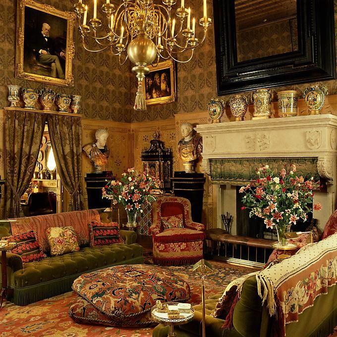 Baron Guy De Rothschild Residence, New York. Interior