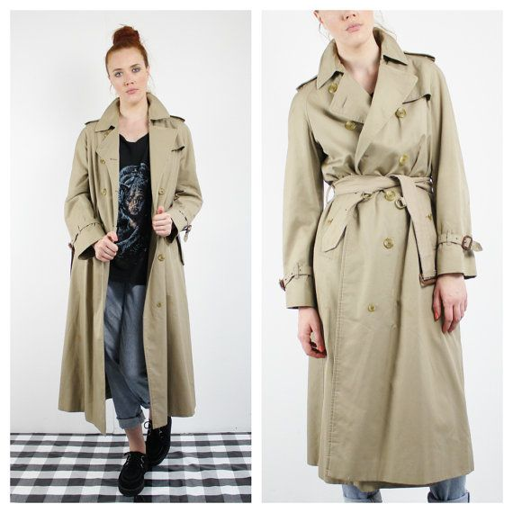 Vintage Burberry Trench Coat From, Trench Coat Vintage Burberry