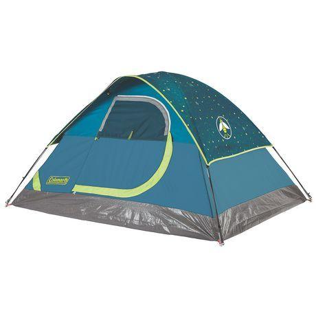 Coleman Glow-in-the-Dark 2 People Dome Tent  sc 1 st  Pinterest & Coleman Glow-in-the-Dark 2 People Dome Tent - http://www.walmart ...