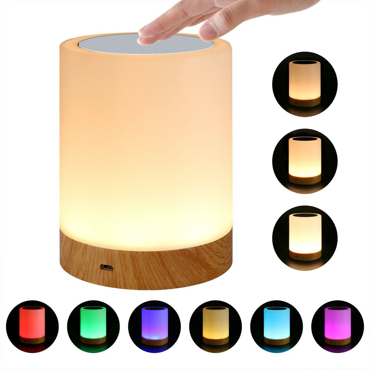 Led Touch Sensor Dimmable Table Lamp Baby Room Sleeping Aid Bedside Night Light Table Lamps Ideas Of Table Lamps Night Light Night Light Lamp Touch Lamp
