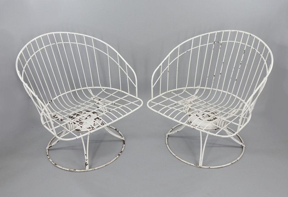 Park Art My WordPress Blog_Wrought Iron Barrel Chair Cushions