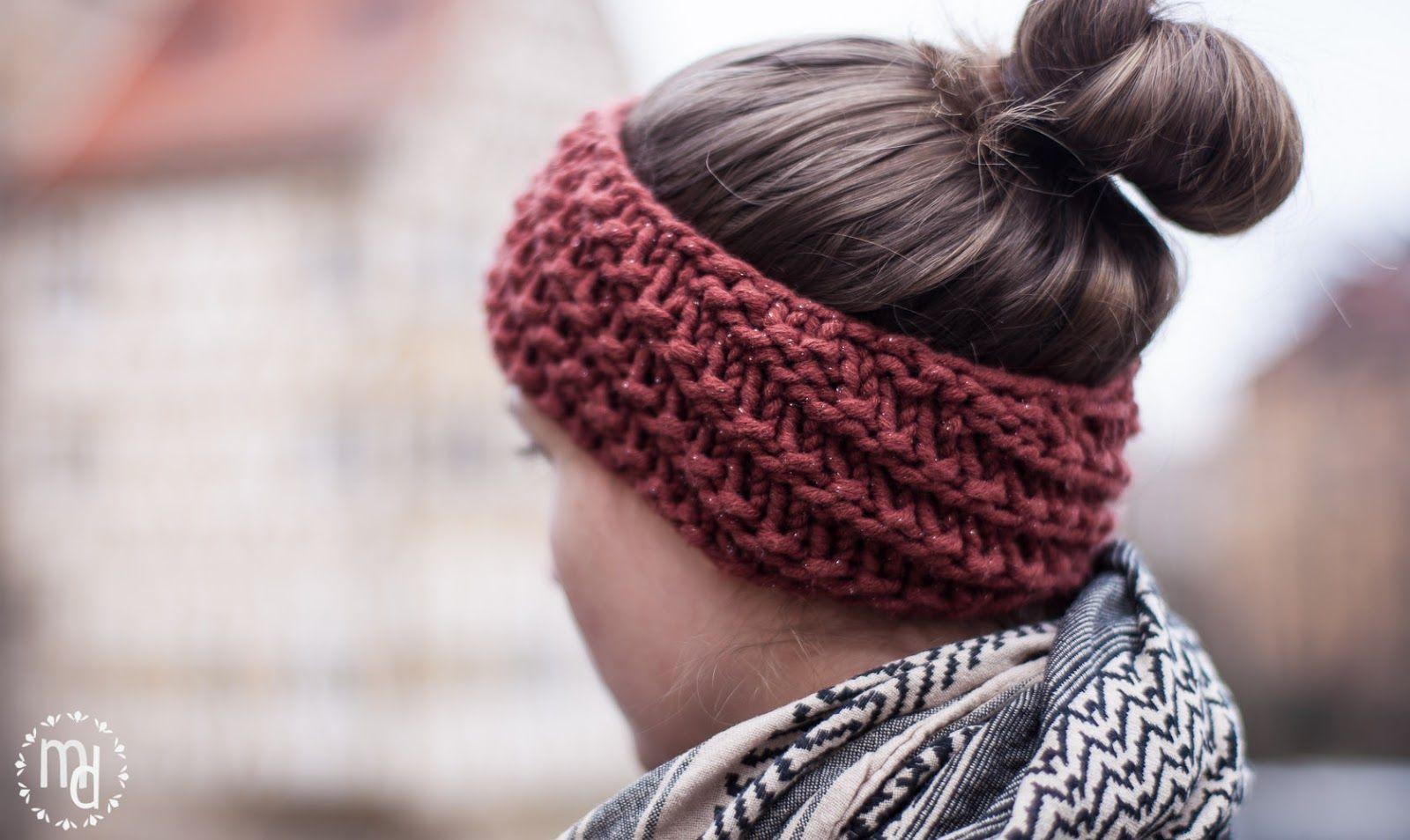 Photo of min deern: Stirnband | Stricken gegen Winterblues