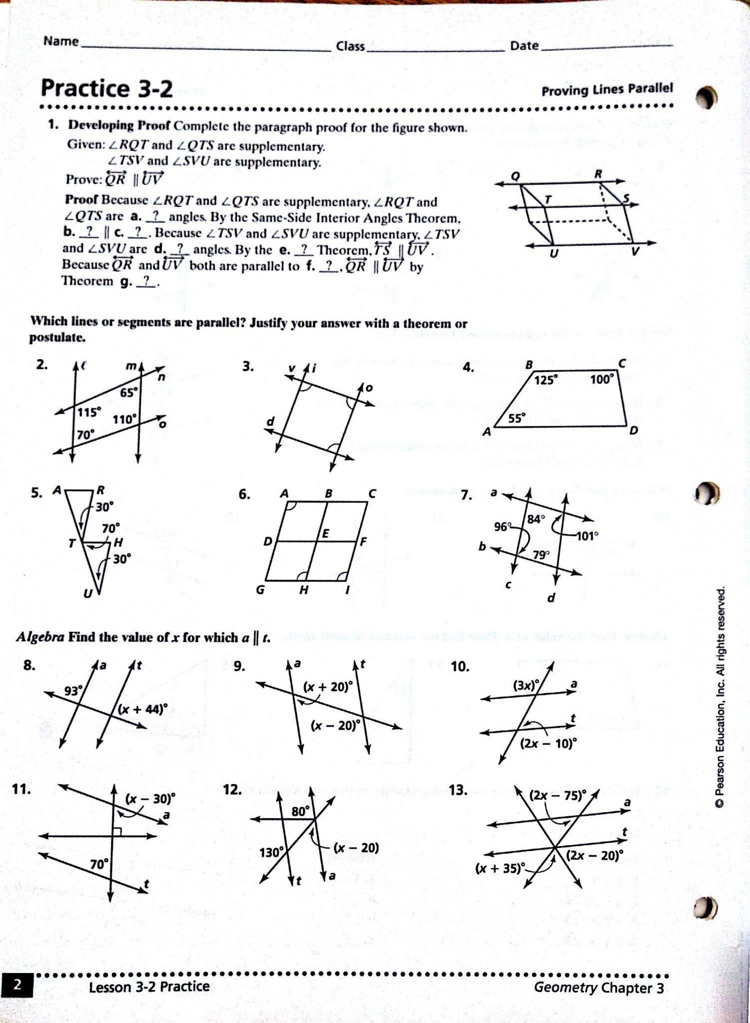 Angles In Transversal Worksheet Answers 8 Parallel Lines Worksheet Answers 2020 In 2020 Geometry Worksheets Algebra Worksheets Congruent Triangles Worksheet