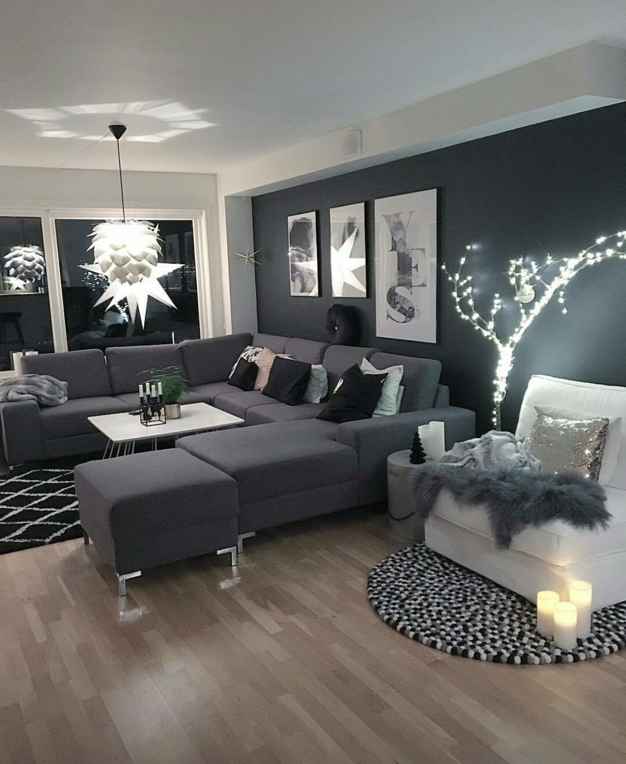Light Grey Living Room Ideas 2019 In 2020 Black Living Room Decor Living Room Grey Black And White Living Room