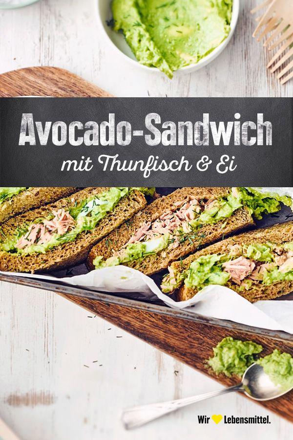 Avocado-Sandwich - Rezept   EDEKA