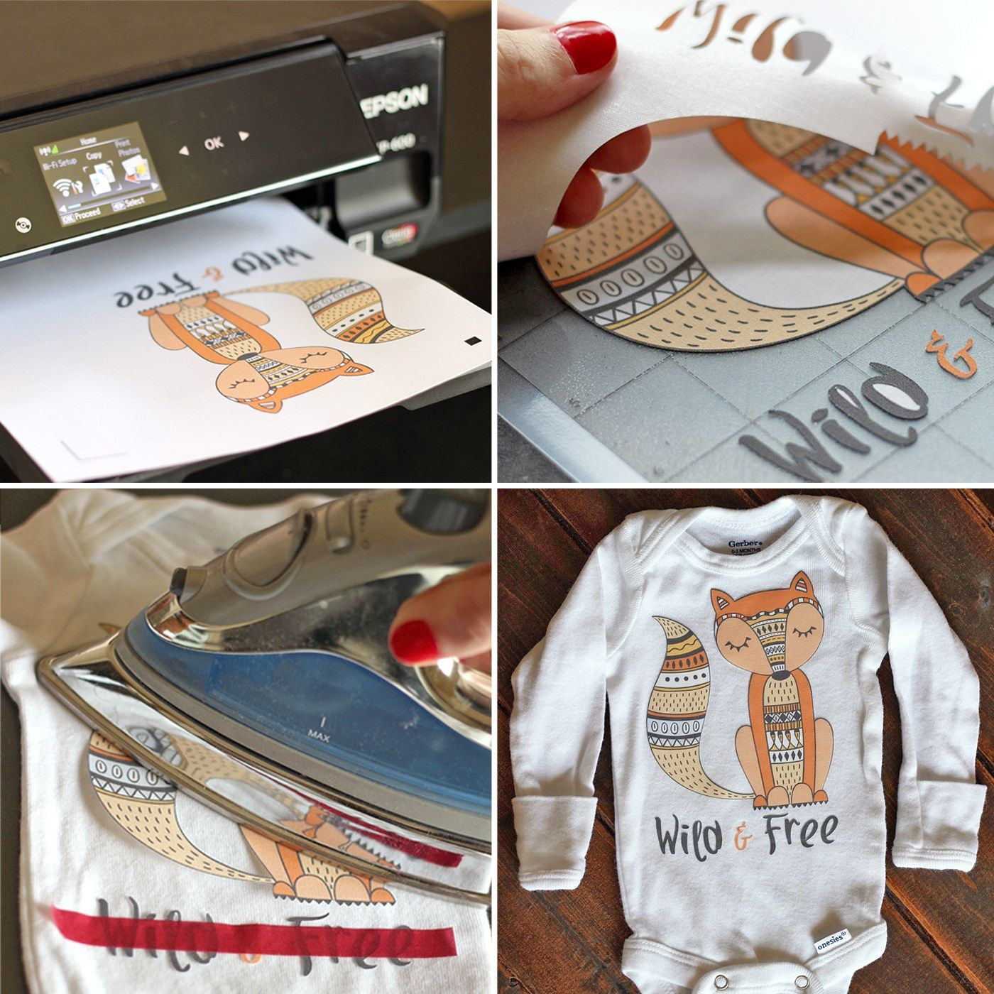 photograph regarding How to Use Printable Heat Transfer Vinyl Cricut known as Printable Warmth Go Vinyl 101 We (Middle) Silhouette