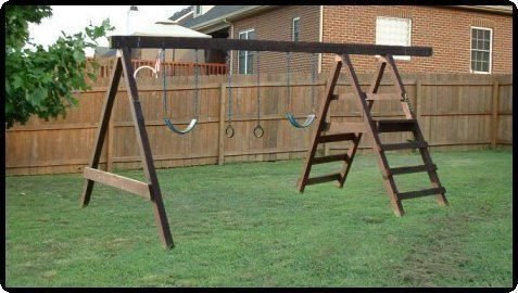 Jungle Gym Plans Kids Playset And Cubbyhouse Fort Plans Download Swing Set Diy Swing Set Plans Diy Swing