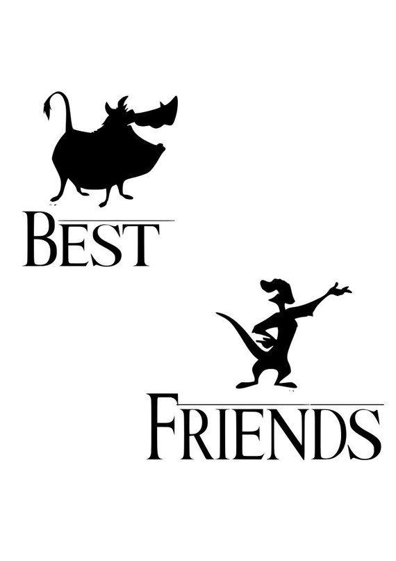 baa7d3e058ded Lion king, pumba, timone, best friends, matching shirts, hakuna ...