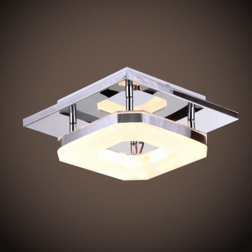 LED Acrylic Chandelier Ceiling Light Fixture Flush Mount Home Decor