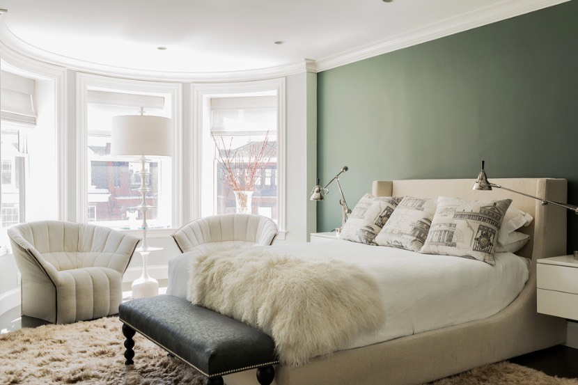 Decorating With Sage Green Is A Thing For 2018 According To Pinterest Freshome Com Sage Green Bedroom Green Master Bedroom Bedroom Green